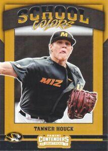 2017 Panini Contenders Draft Picks Baseball School Colors #14 Tanner Houck