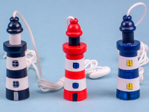 Lighthouse/Seaside/Nautical Themed Wooden Cord Pull / Light Pull  (15278)