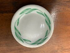 RESTAURANT WARE BUTTER PAT MAYER CHINA ARAGON PATTERN COLOR GREEN