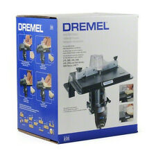 Dremel Shaper/Router Table, 231, Adjustable Fence Rotary Tool Slot Groove Sand