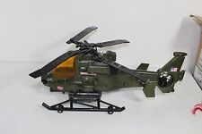 """GI Joe Sound Helicopter hasbro spinning propeller, wench for 4"""" action figures"""