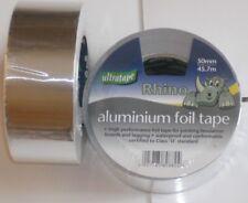 50mm x 45.7m  Aluminium Foil Tape -Ultratape Rhino Self Adhesive x 1