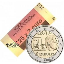 Rouleau 25 x 2 euros Luxembourg 2017 - Anniversaire du volontariat dans l'armée
