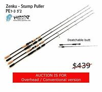 Hamachi Zenku Stump Puller Nano Jig 5'2 PE 1 - 3 Japanese fishing rod O/HEAD
