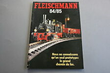 X063 FLEISCHMANN Train catalogue Ho N Rallye Monte Carlo 1984 85 116 pages F