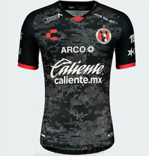 New 2020-2021 Tijuana black Soccer Jersey Short Sleeve Man Tshirt S-XXL