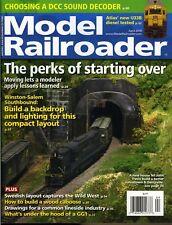 Model Railroader Magazine April 2018 Choosing a DCC Sound Decoder, Atlas U33B