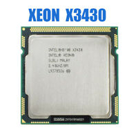 Intel Xeon X3430 Quad Core 2.4GHz LGA1156 8M Cache 95W Desktop CPU used 4 Cores