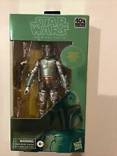 STAR WARS THE BLACK SERIES BOBA FETT (CARBONIZED) 6-INCH ACTION FIGURE NEW