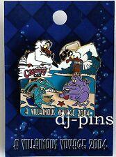 DCL Villainous Voyage 2004 Hercules Pain & Panic LE Disney Pin 34679