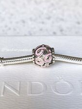 Authentic Pandora Pink Cz Breast Cancer Ball Ribbon Charm W/ Gift Pouch