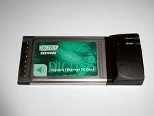 PCMCIA Gigabit Ethernet PC Card Digitus, Realtek RTL8169, RJ45, gebraucht