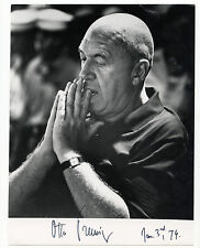 OTTO PREMINGER 1974  Signed Photo  KOA Authenticated