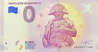 BILLET 0  EURO NAPOLEON BONAPARTE   PARIS FRANCE 2018 NUMERO DIVERS