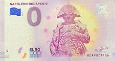 BILLET 0  EURO NAPOLEON BONAPARTE   PARIS FRANCE 2018 NUMERO DIVERS