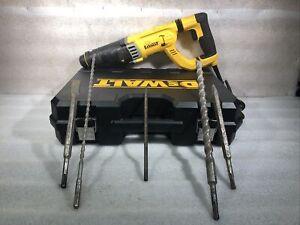 DeWALT D25263  D-Handle SDS Corded Electric Hammer Drill W/ 4 Bits