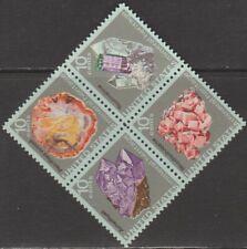 Scott# 1538-41 - 1974 Commemoratives - 10 cents Mineral Heritage Block