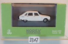 Norev 1/87 Nr. 571680 Renault 16 Limousine weiß OVP #3317