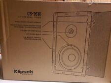 "Klipsch CS-16W Designer Series 6.5"" In-Wall Speaker"