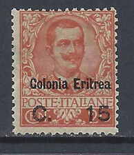 COLONIE ERITREA 1905 Soprastampato 15c su 20c MNH** (KF)