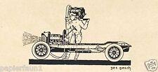 Auto Werkstatt Lechner Breslau XL Reklame 1923 Autohaus Werbung Fenag Varta ad