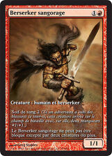 MTG MAGIC CARTE PROMO GAMEDAY BERSERKER SANGORAGE