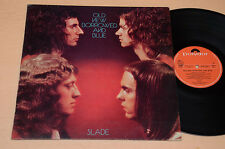 SLADE LP OLD NEW BORROWED AND BLUE 1°ST ORIG ITALY 1974 AUDIOFILI EX !!!!!!!!!!!
