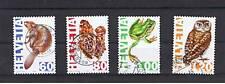 4 Francobolli Svizzera 1995 usati