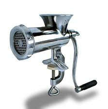 New Mtn Gearsmith Stainless Steel Manual Meat Grinder #8 Sausage Stuffer