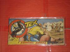 TEX STRISCIA ORIGINALE n° 8 -del 1956-12° SERIE topazio  -no araldo o zagor