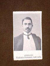 Deputato 1909 Torlonia Giovanni Avezzano e Berenini Agostino di Borgo S.Donnino