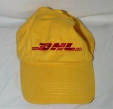 DHL Yellow Strapback Baseball Hat
