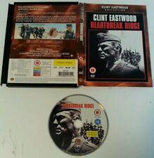 DVD - Heartbreak Ridge Clint Eastwood DVD PAL Region 2 UK 2003 Action Cert 15