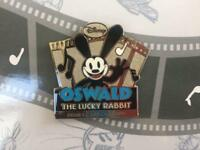 Disney Oswald the Lucky Rabbit Mickey Pin Pins Mount Limited JCB Gold Card 2018