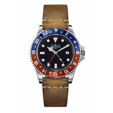 DAVOSA Ternos Vintage Diver GMT Quartz 39mm Swiss