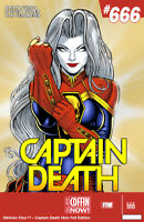 "Lady Death Oblivion Kiss #1 ""Captain Death""   Ltd. Ed. 190  Comic Book"