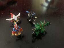 Digimon Lot Of 4 Mini Figures Bandai Vintage