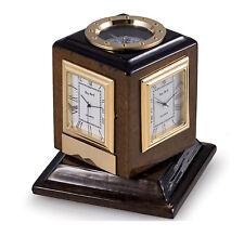 Buy desk mantel carriage clocks with multiple time zones ebay clocks multiple time zone revolving clock compass desktop clock gumiabroncs Choice Image