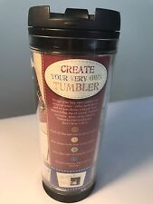 Starbucks TRAVEL MUG Create Your Own Tumbler 16oz PHOTO MEMORIES NEW