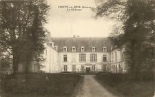CONDE en Brie (aisne ) ; le château 1916