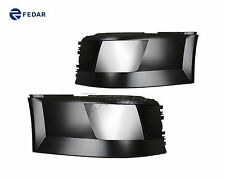 Fits 2004-2017 Volvo VNL Bumper Ends with Chrome Front Cover-Both Sides