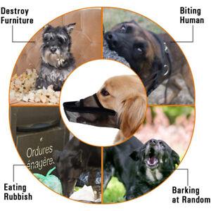 Dog Mesh Muzzles Dog Anti-Biting Breathable Drinkable Licking LA