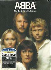 ABBA The Definitive Collection 2 CD + DVD Sound + Vision NEU OVP Sealed Erstpre.