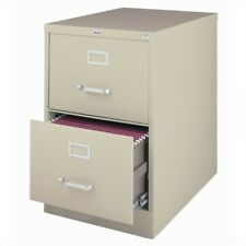 Hirsh 25 In Deep 2 Drawer Vertical Legal File Cabinet In Putty