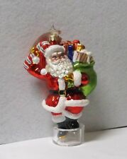 Radko Glass Ornament Dillards Santa 3012668 with Tags