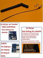 5x ESP8266 2.4G Antenna w/ Mnt H/W /ship within 2 biz days