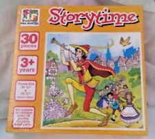 STORYTIME 30 PIECE CHILDRENS JIGSAW PUZZLE NEW AND SEALED JR PRE-SCHOOL