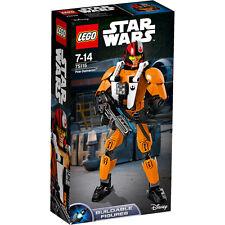 LEGO STAR WARS TEMPERAMATITE FIGURE POE dameron NUOVO
