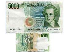 ITALIE  ITALY  5000 lire  1985  RD 425590C