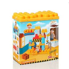 JEU DE CONSTRUCTION 34 PIECES CITY LE CHANTIER